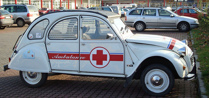 Ambulancier et… interventions insolite !