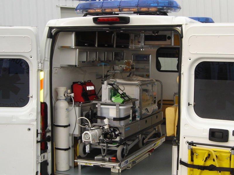incubateur-ambulance Jussieu Secours Brest