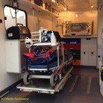 intérieur type d'une ambulance paramedicalisée