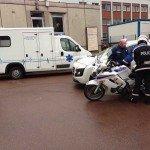 préparation du trajet d'une escorte avec la Police Nationale