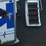ambulance arc en ciel au bourget