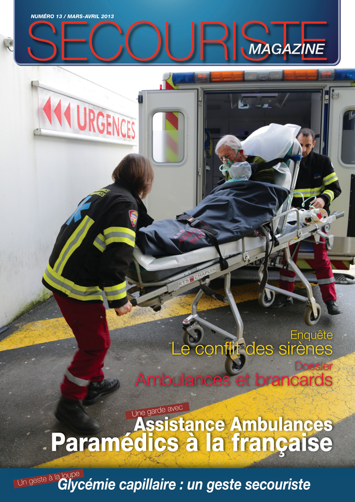 secouriste magazine-ambulanciers