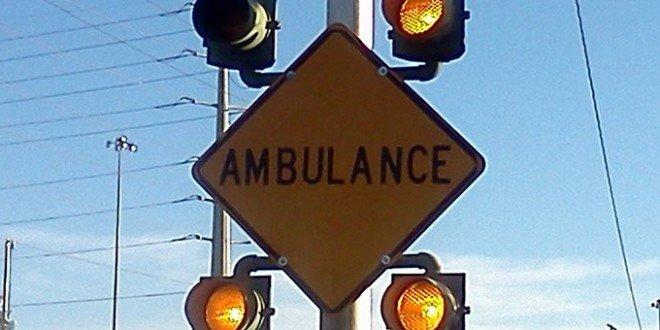 panneau ambulancier