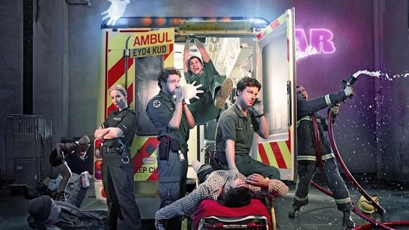 Le binôme ambulancier
