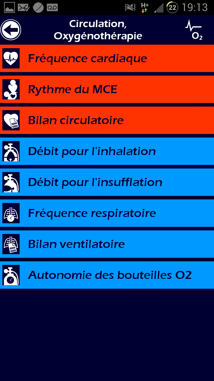 005 L' Ambulancier : le site de référence Application secours mobile reflex