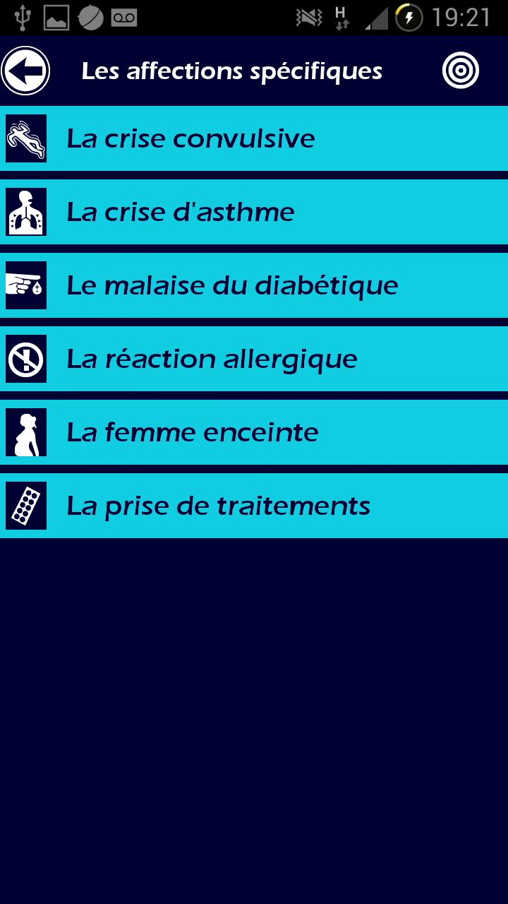 007 L' Ambulancier : le site de référence Application secours mobile reflex