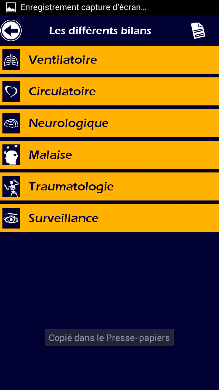 011 L' Ambulancier : le site de référence Application secours mobile reflex
