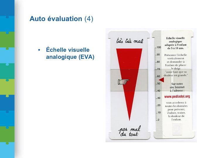 Conf DGS dia 52 L' Ambulancier : le site de référence L'échelle visuelle analogique