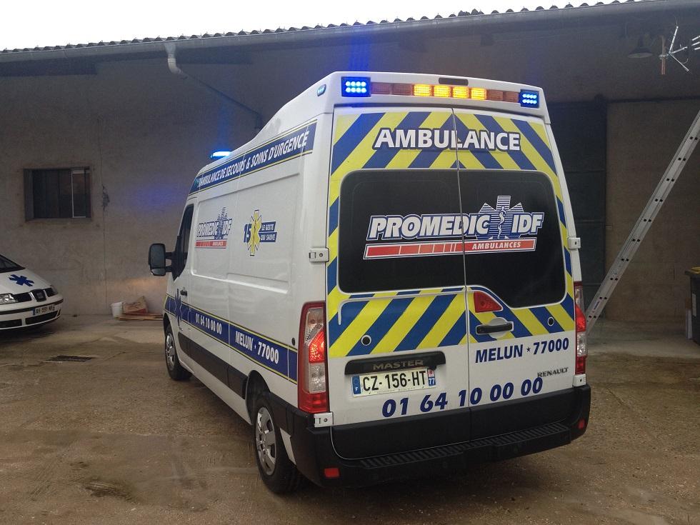 Les ambulances Promedic IDF
