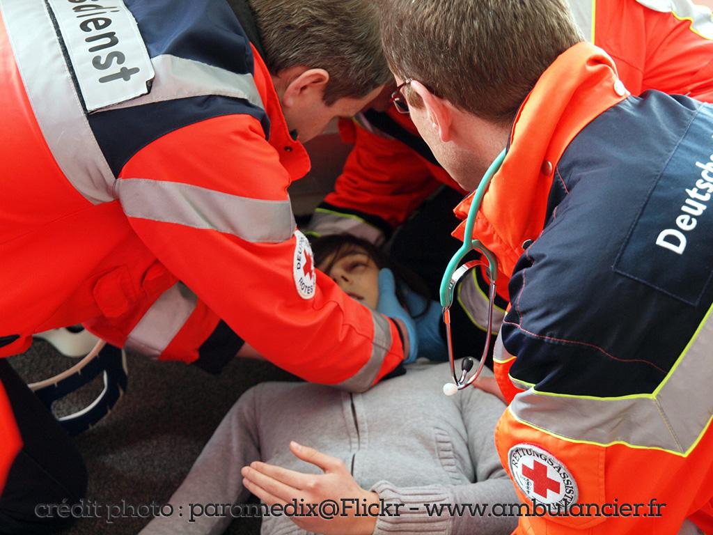 Stage découverte : le rôle du référent ambulancier