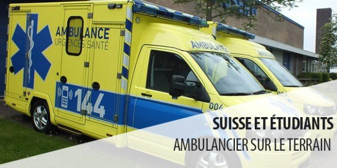 étudiant ambulancier