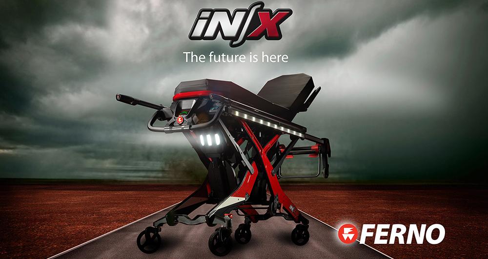 ferno INX - brancard électrique