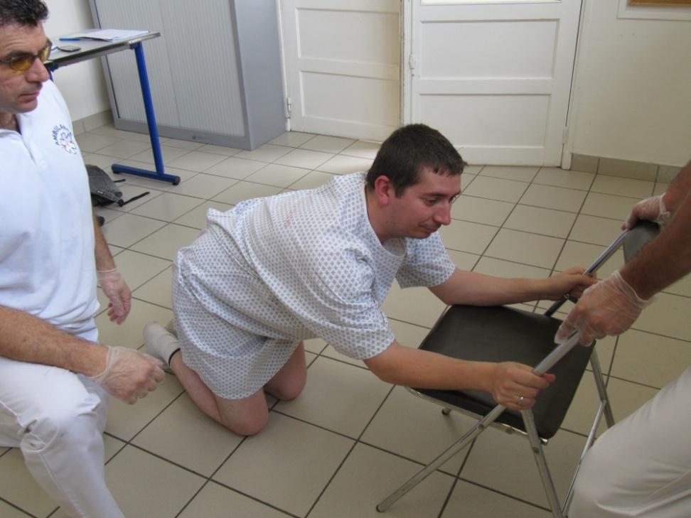 Relevage du sol au lit : méthode du déplacement naturel