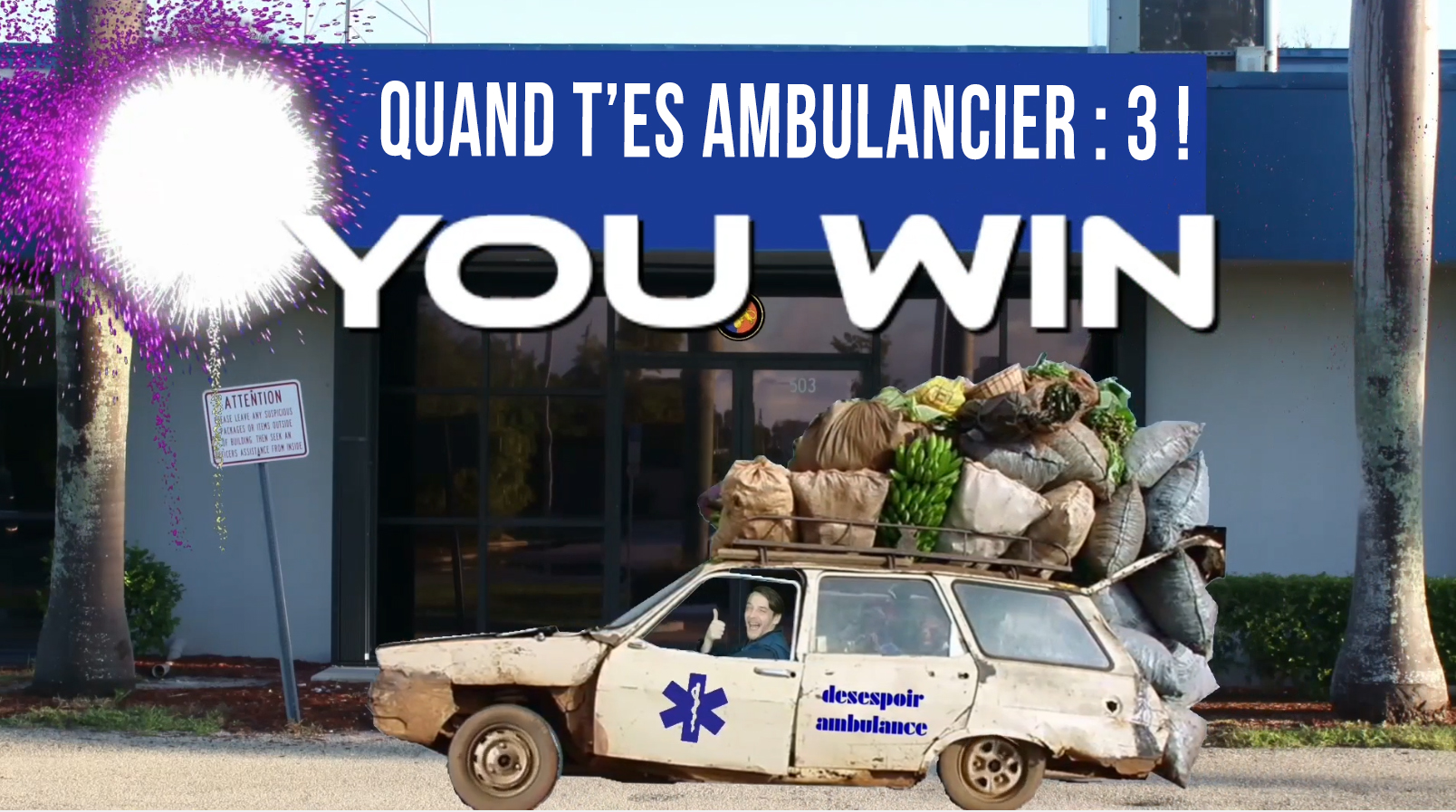 Quand t'es ambulancier #3
