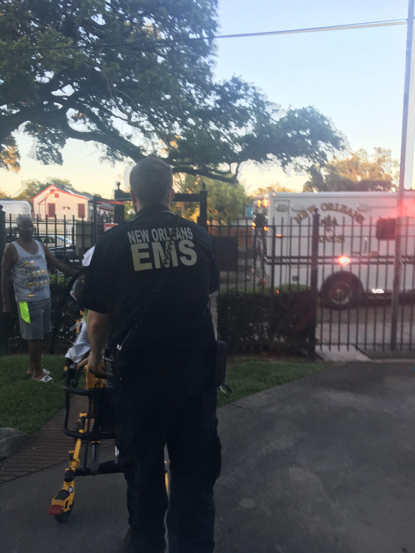 IMG 1801 L' Ambulancier : le site de référence EMS Nouvelle Orléans - Un ambulancier parmi les paramedics