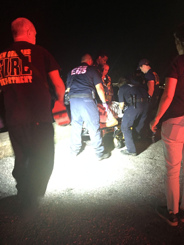 IMG 1861 L' Ambulancier : le site de référence EMS Nouvelle Orléans - Un ambulancier parmi les paramedics