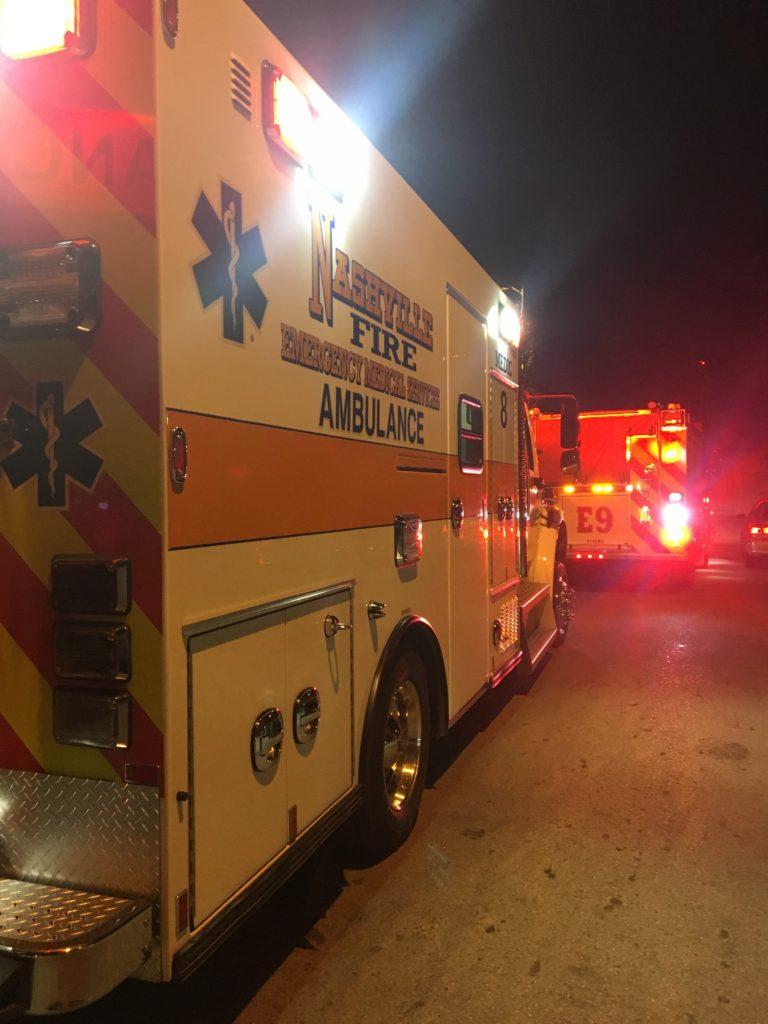 EMS Nashville - immersion d'un ambulancier français