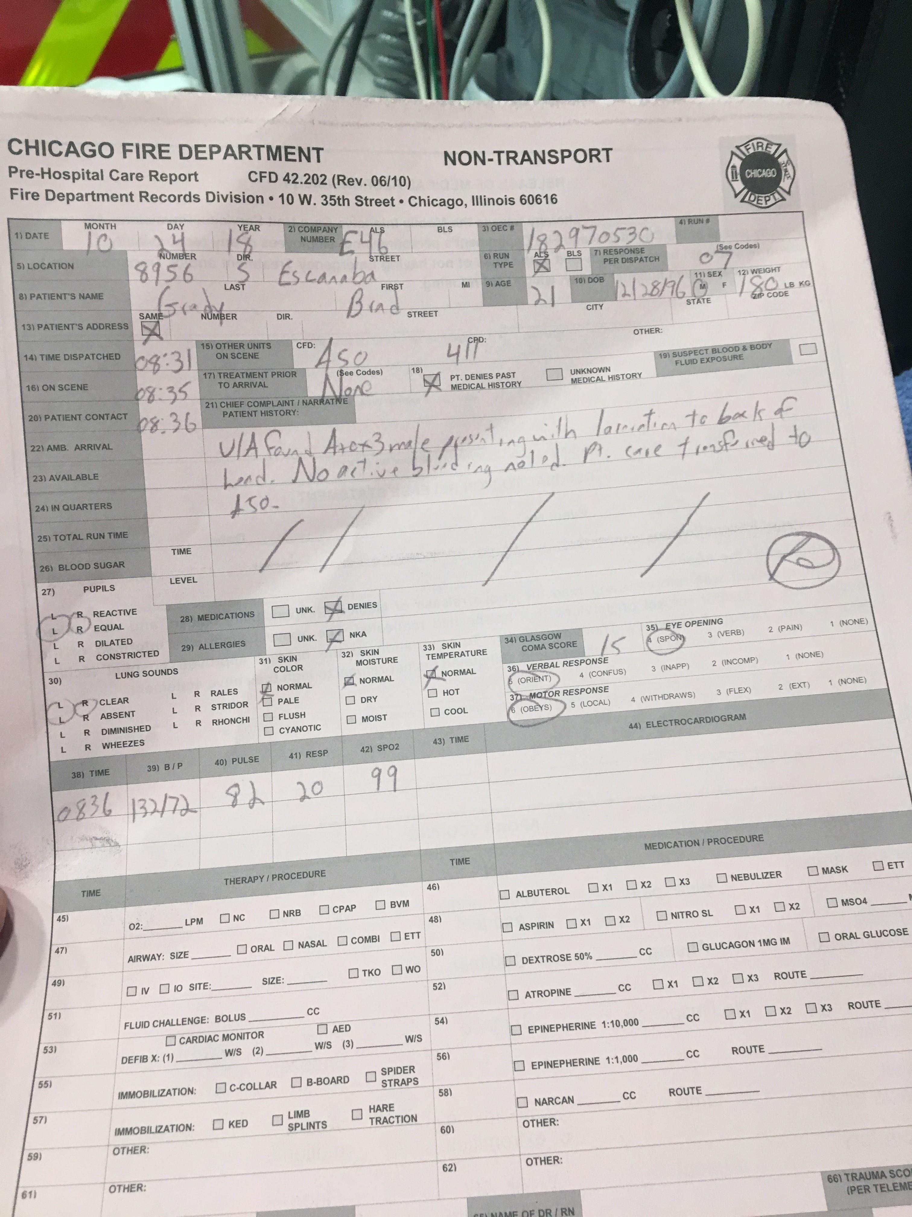 IMG 3962 1 L' Ambulancier : le site de référence Immersion chez les EMS Paramedic aux USA - Les images