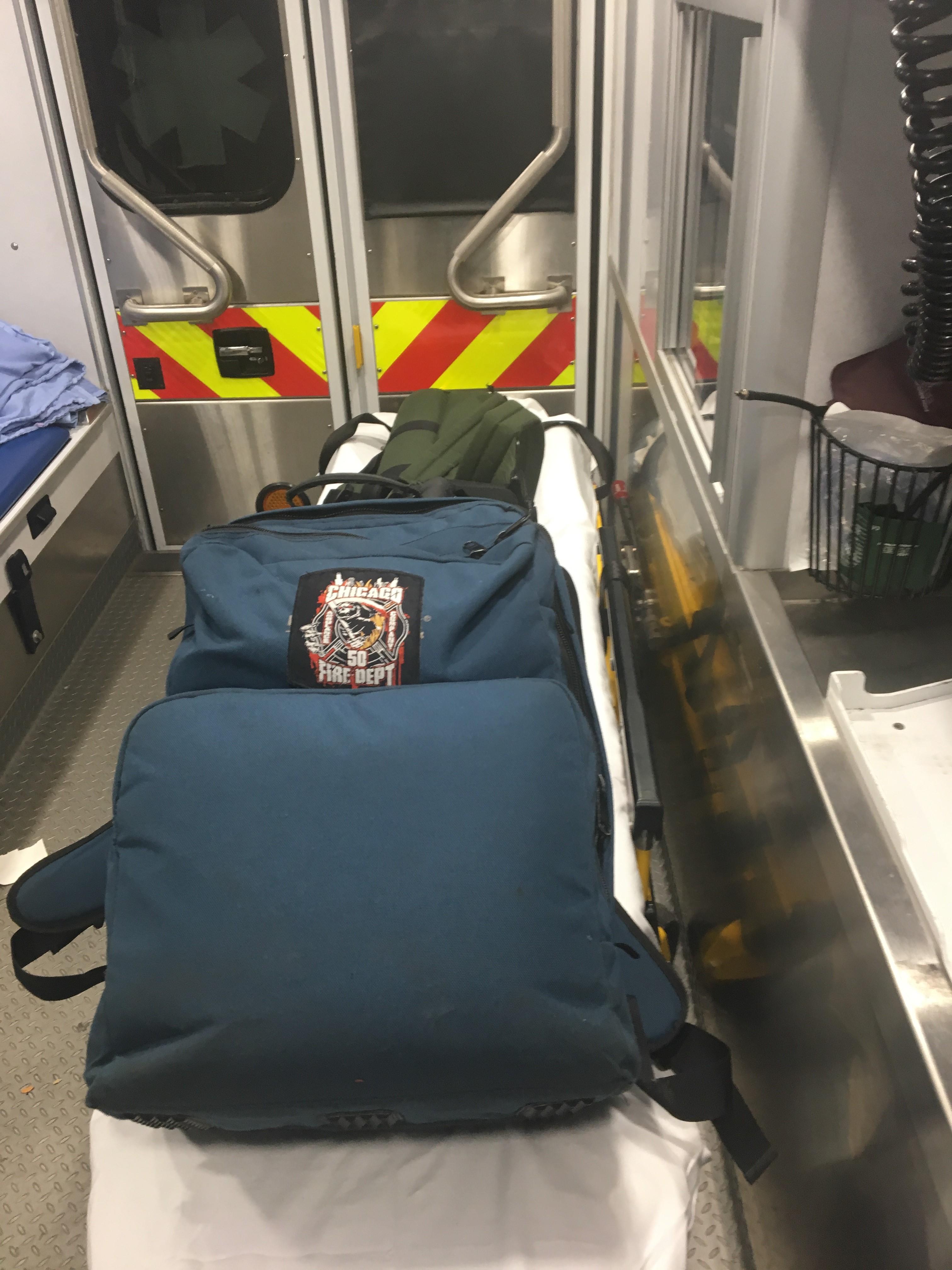 IMG 4002 1 L' Ambulancier : le site de référence Immersion chez les EMS Paramedic aux USA - Les images