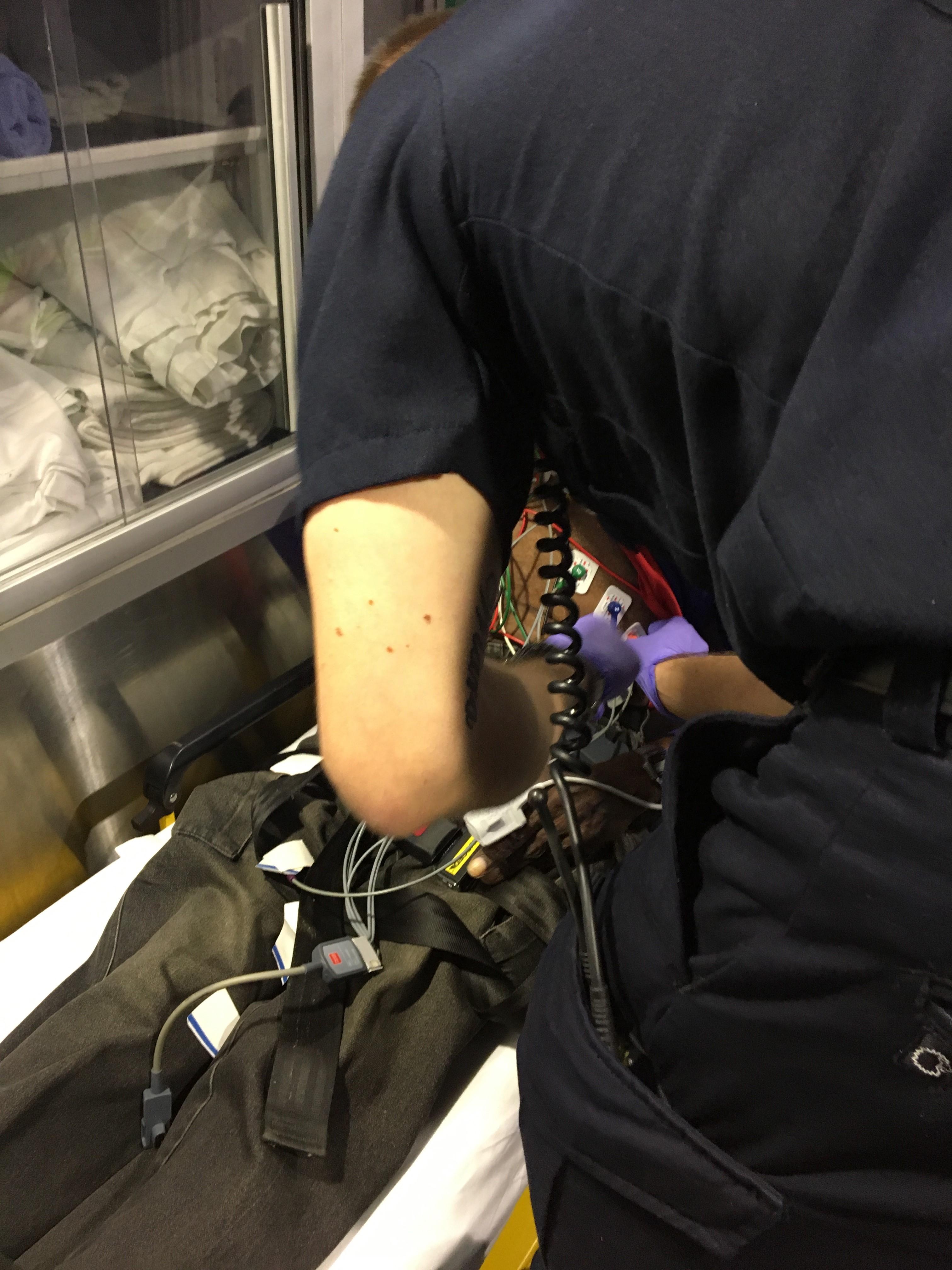 IMG 4012 1 L' Ambulancier : le site de référence Immersion chez les EMS Paramedic aux USA - Les images