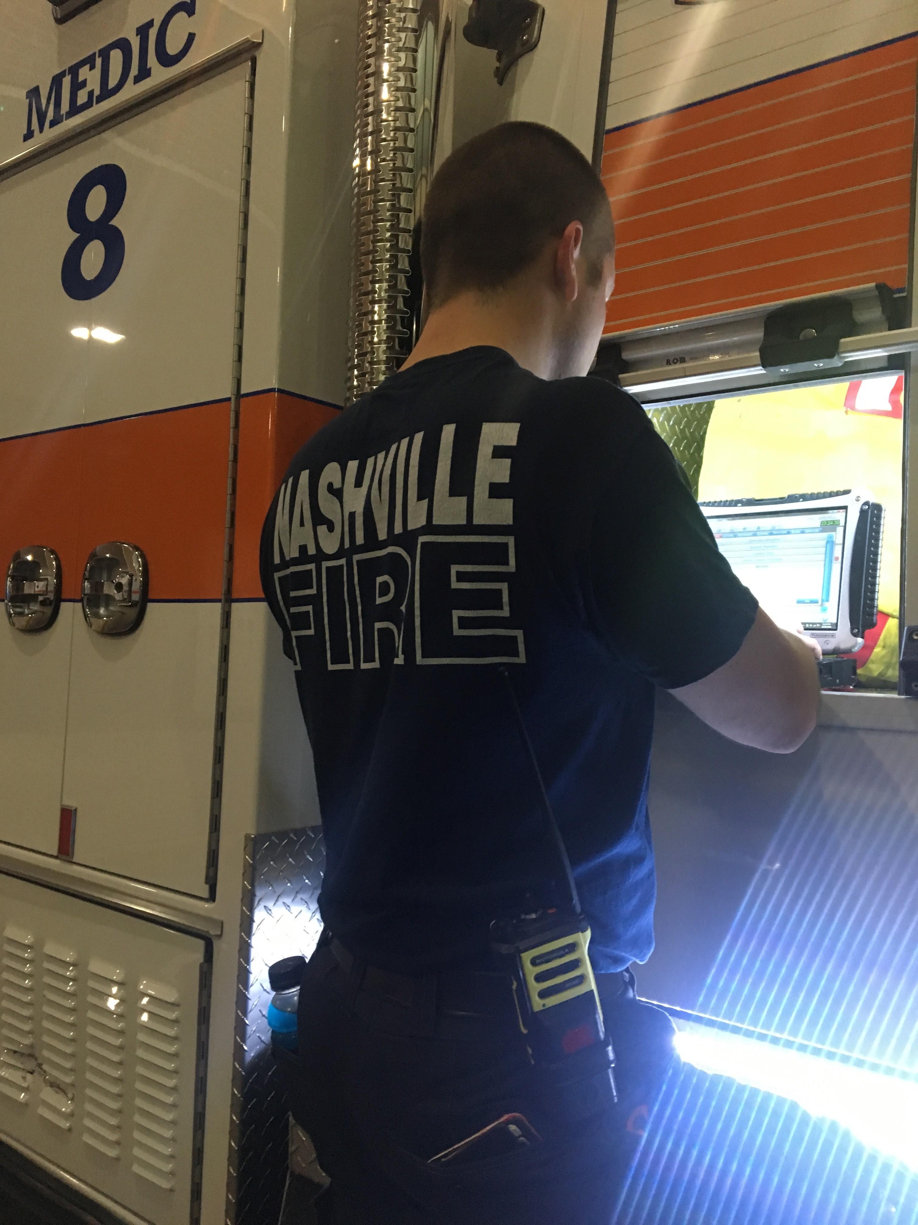 IMG 4353 L' Ambulancier : le site de référence Immersion chez les EMS Paramedic aux USA - Les images