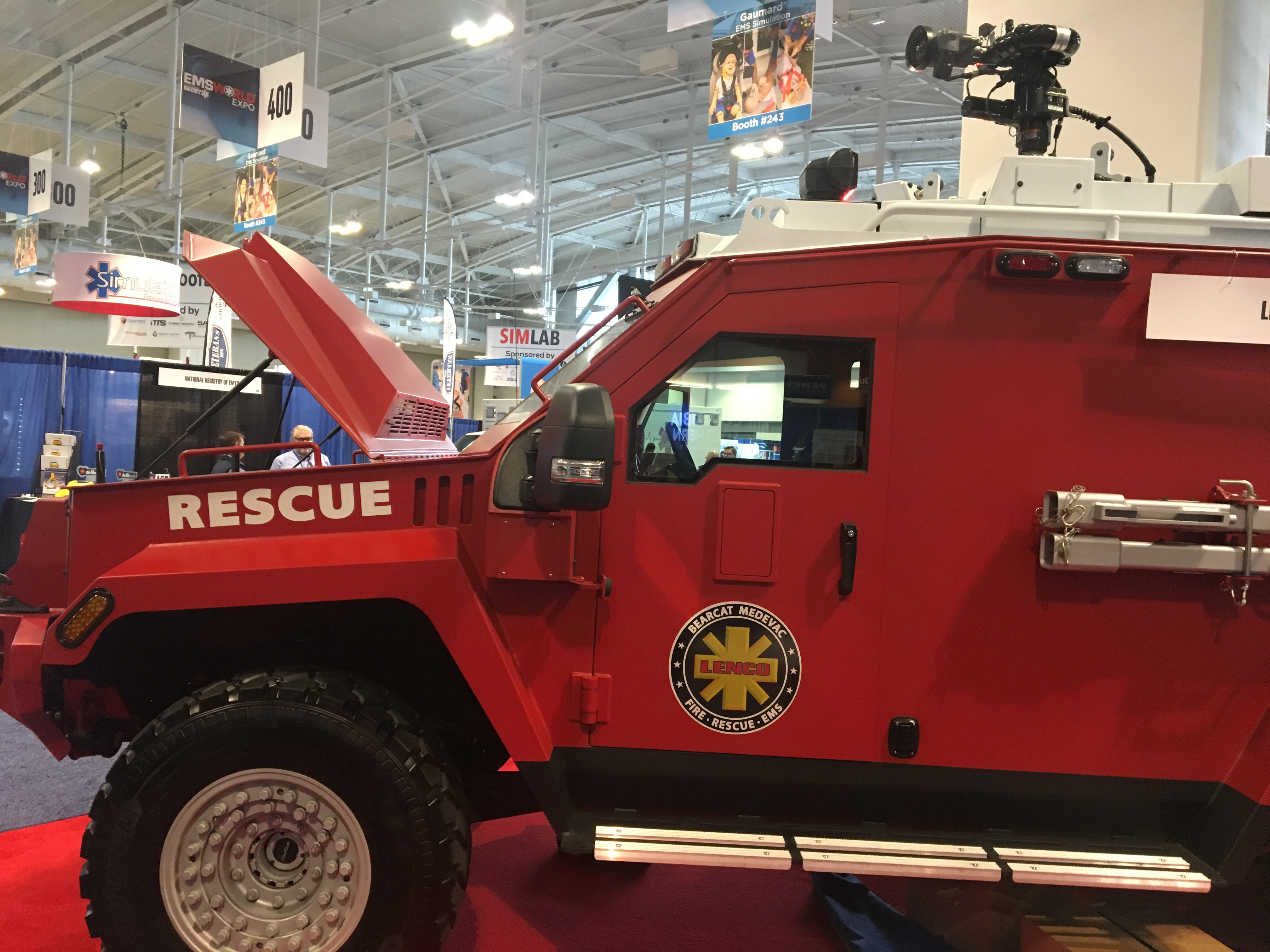 IMG 4536 L' Ambulancier : le site de référence Immersion chez les EMS Paramedic aux USA - Les images