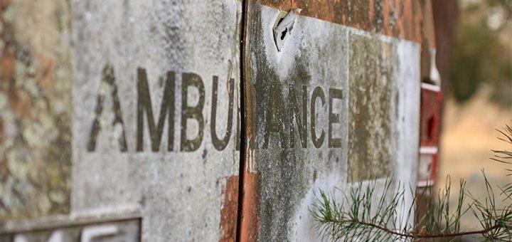Les produits de désinfection pour l'ambulance