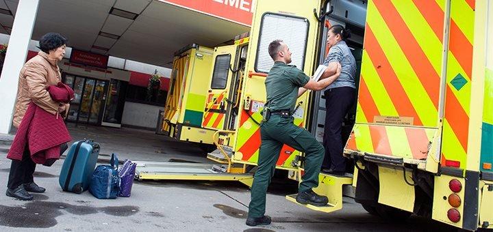 diplôme d'état d'ambulancier - london ambulance
