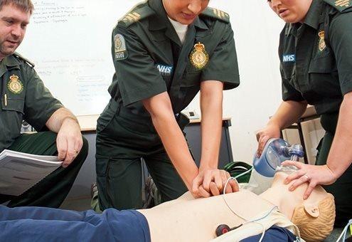 formation de l'ambulancier en entreprise