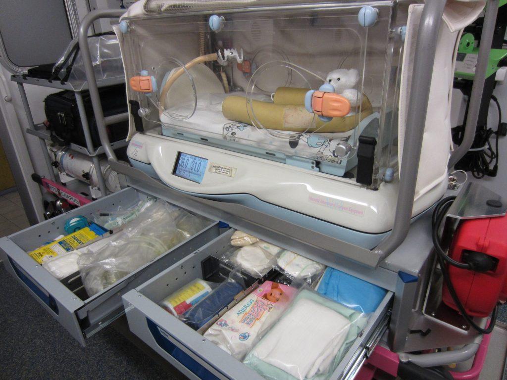 L'ambulancier face au transport pédiatrique