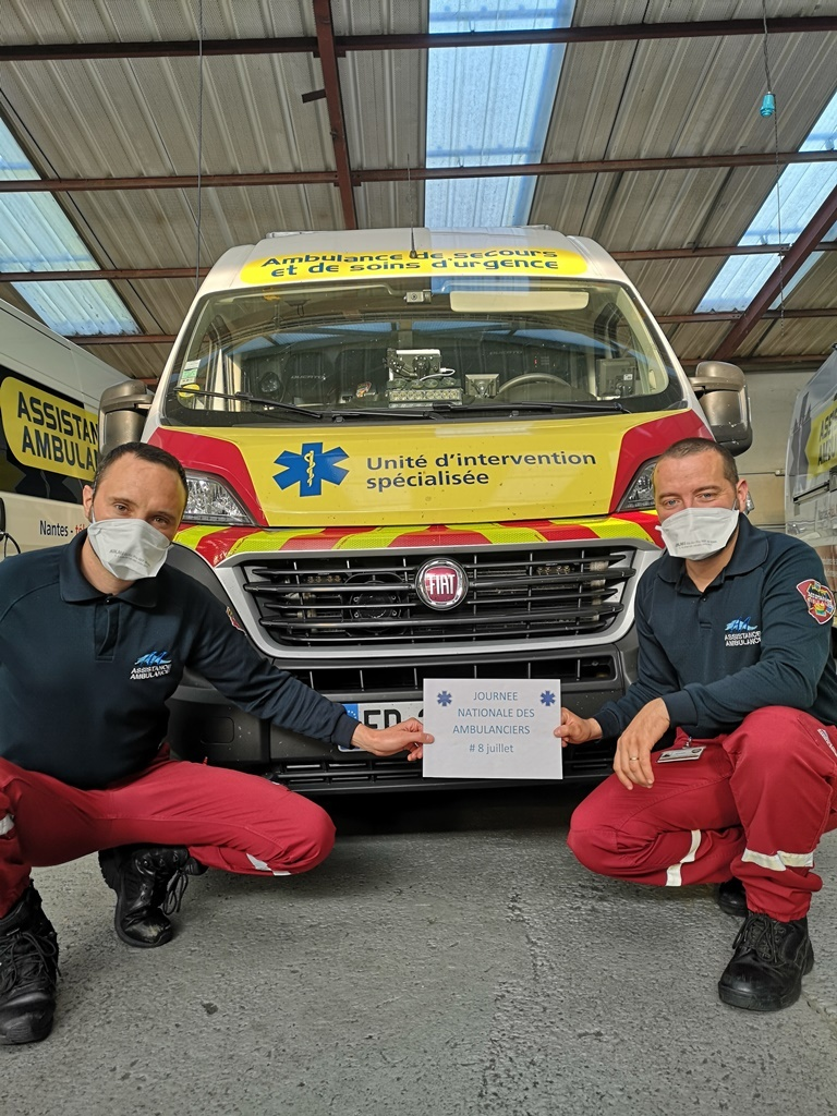 assistance 2 - journée nationale des ambulanciers