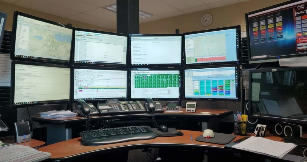 911- salle de régulation - Canada - Québec