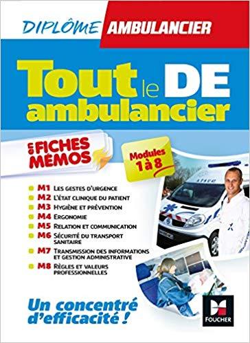 TOUT LE DE AMBULANCIER L' Ambulancier : le site de référence La librairie de l'ambulancier