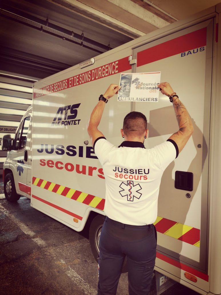 IMG 6269 L' Ambulancier : le site de référence Journée nationale des ambulanciers le récap'